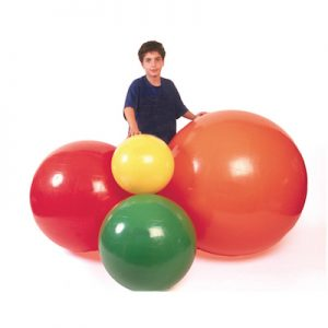 Inflatable Balls and Rolls